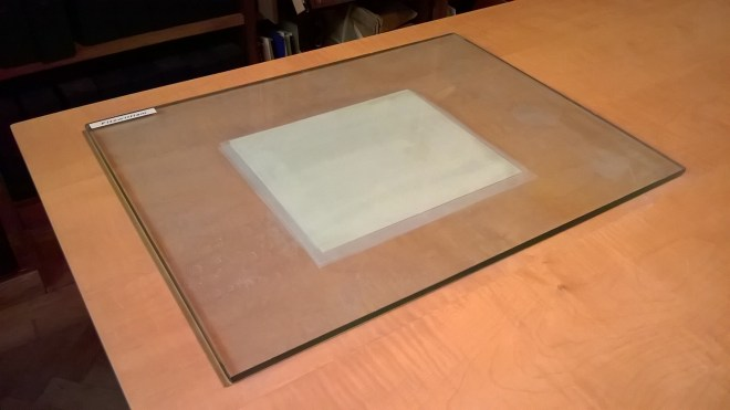 Fig 3 - Object during washing