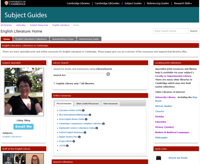 LibGuides English
