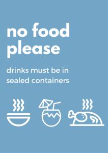 No food please