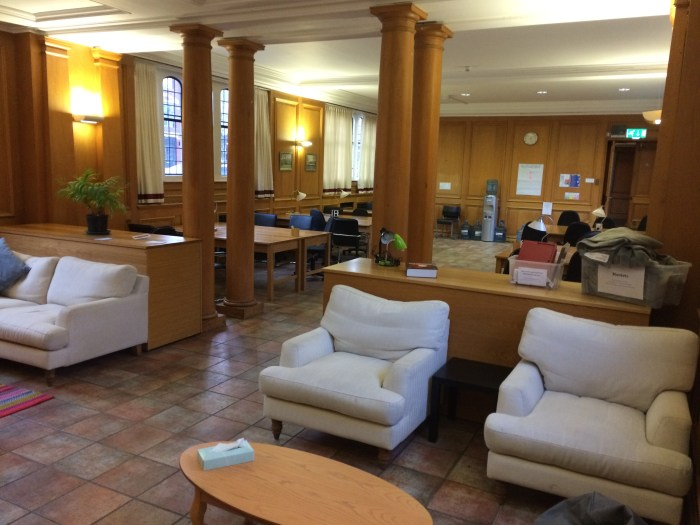 Photograph of Ramsay Hall Study Space