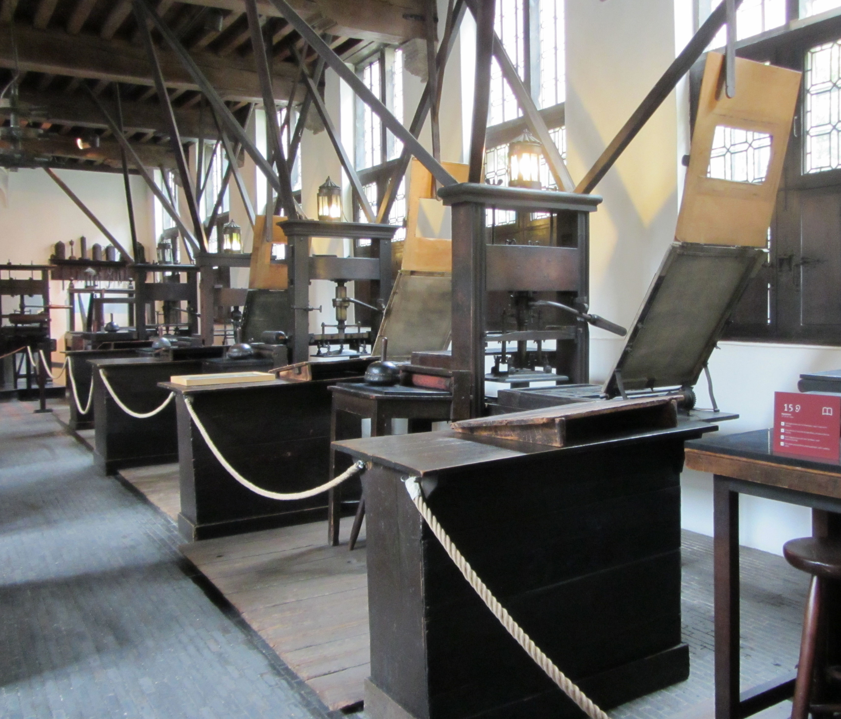 The Plantin Press  Magdalene College Libraries