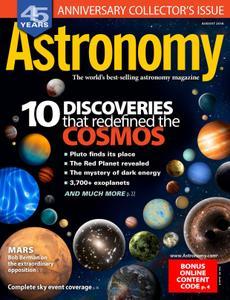 Astronomy – August 2018