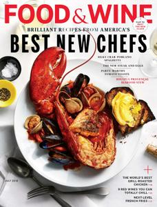Food & Wine USA – July 2018