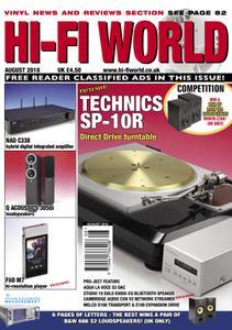 Hi-Fi World - August 2018