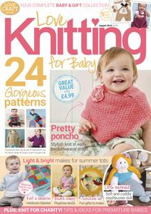Love Knitting for Baby – August 2018