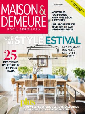 Maison & Demeure - Juillet Aout 2018