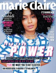 Marie Claire South Africa - July 2018