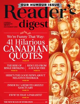 Reader's Digest Canada - July 2018