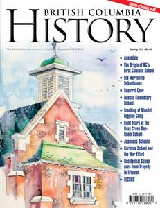 British Columbia History – March 2018