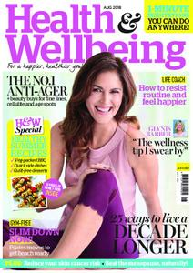 Health & Wellbeing – August 2018