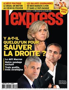 L'Express - 04 juillet 2018