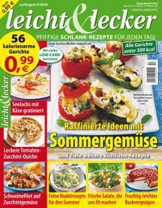Leicht & Lecker – Juli-August 2018