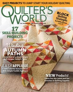 Quilter's World – July 2018