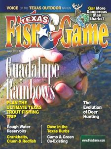 Texas Fish & Game - August 2018