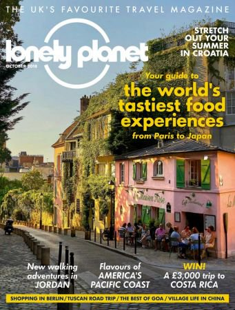 Lonely Planet Traveller UK - October 2018