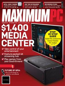 Maximum PC – September 2018 (True PDF)