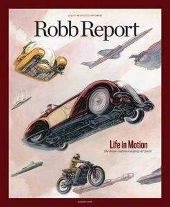Robb Report USA – August 2018