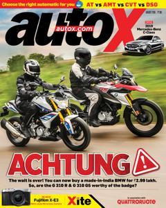 autoX – August 2018