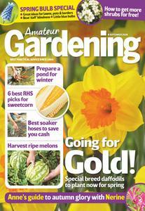 Amateur Gardening – 18 September 2018