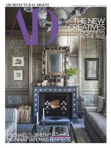 Architectural Digest USA – October 2018