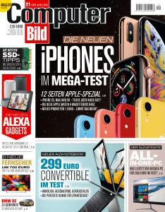 Computer Bild Germany – 28 September 2018