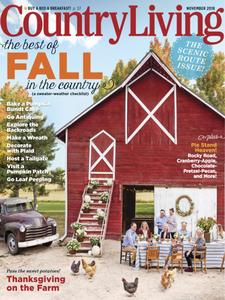 Country Living USA – November 2018