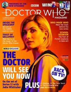 Doctor Who Magazine – October 2018