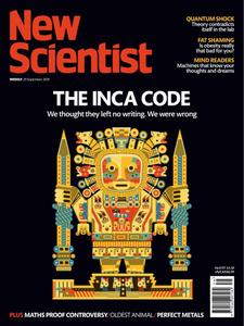 New Scientist International Edition – September 29, 2018