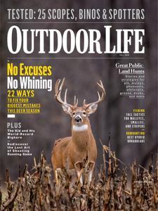Outdoor Life - September 2018
