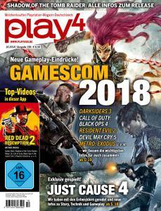 Play4 Germany – Oktober 2018