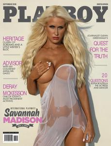 Playboy South Africa – September 2018