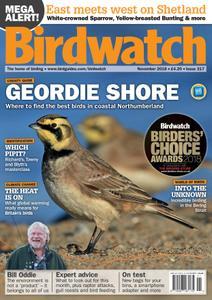 Birdwatch UK – November 2018