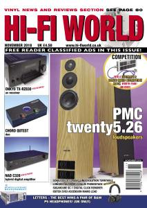 Hi-Fi World – November 2018