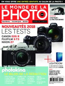Le monde de la photo – novembre 2018
