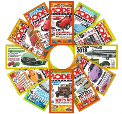 Model Collector - Full Year Issues Collection 2018