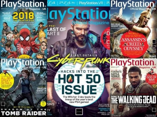 PlayStation Official Magazine UK - Full Year Issues Collection 2018
