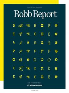 Robb Report USA – October 2018