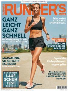 Runner's World Deutschland - Oktober 2018