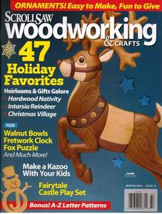 Scrollsaw Woodworking Crafts Winter 2018 Free Pdf