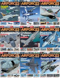 AirForces Monthly – Full Year 2018 Collection