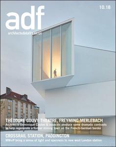 Architects Datafile (ADF) - October 2018