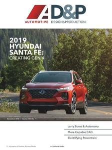 Automotive Design and Production - November 2018