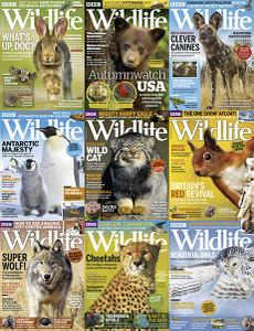 BBC Wildlife - Full Year 2018 Collection