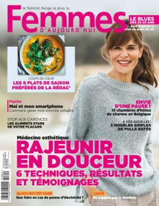 Femmes D'Aujourd'Hui N.44 – 31 Octobre 2018
