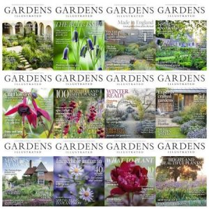 Gardens Illustrated – Full Year Issues Collection 2018