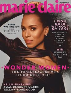 Marie Claire South Africa – December 2018