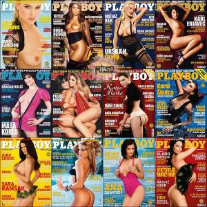 Playboy Slovenia - Full Year 2010 Issues Collection