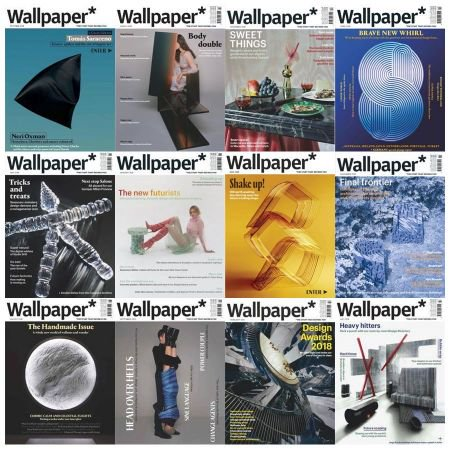 Wallpaper - Full Year Issues Collection 2018
