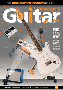 Guitar Interactive – Issue 62, 2018