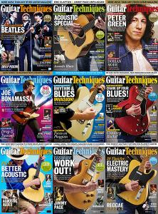 Guitar Techniques - Full Year 2018 Collection